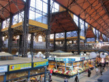 now we're at the huge central market hall, near the Liberty bridge