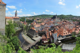 panorama from the castle bridge