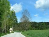 heading north from Cesky Krumlov...