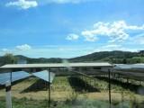 we saw quite a few solar power installations