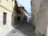away from the center, the streets are narrow and twisting