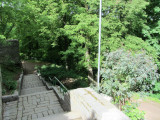 ...which has access to parkland along the river ringing the steep rocky fortifications