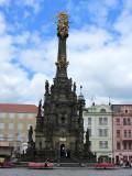 it has a famous Holy Trinity column...