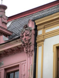 architectural details reveal the town's link to the Austrian Empire