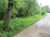 here is Drahomanov street by the river, where in 2011 Mr. Vorobets speculated there would be more stones...