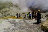 Wondering amongst the geothermal activity