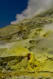 Sulphur and fumaroles