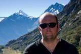 Me - Mt Aspring behind