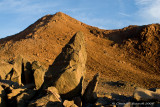 Ultramafic rocks with Red Hill tops beyond