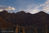 Red Mountain - evening clouds 1