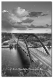 Pennybacker Bridge evening storm