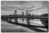 Austin skyline from Lamar Blvd at Sunrise