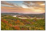 360 Bridge - Autumn Colors in Austin