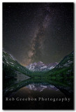 Maroon Bells under the Milky Way