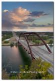 Stormclouds over Pennybacker Bridge