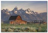 Morman Barn in the Grand Tetons