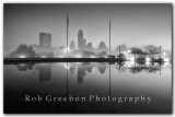 Austin Skyline -  with a  foggy view