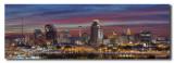 San Antonio Skyline at sunset
