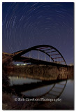 North Star over Pennybacker Bridge