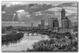Austin Skyline after the storm