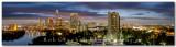 Panorama - Austin Skyline at dusk