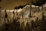 Hautes-Alpes : Demoiselles coiffées de Théus