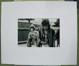 Brian Jones & Jimi Hendrix by Jim Marshall