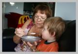 Morning Porridge with Grandma