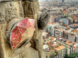 Sagrada Familia view from tower