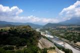 Vista desde la torre (río Cinca)