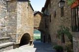 Antiguo hospital de Aínsa