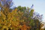 Temple Spire in Autumn