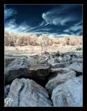 Abandoned quarry IR