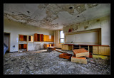abandoned school HDR