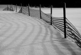 Fence in snow #2