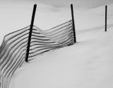 Fence in snow #3