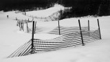 Fence in snow #4