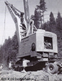 Trackloader TL-11 on Trailer (1955 Ad)