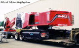 Madill 2800 on Nygaard Lowbed