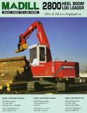 Madill 2800 Heel Boom Loader