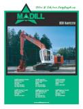 --- Madill 800 ---  Harvester  Brochure