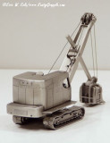 Bucyrus-Erie 25B Pewter Paperweight
