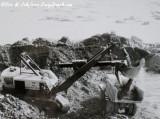 Bucyrus-Erie 88-B  Shovel Loading Rock