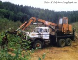 Barko 250 Loader on Autocar Truck