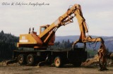 Barko 450 Loader on 3-Axle Carrier