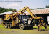 Barko 250 Loader on Mack Truck