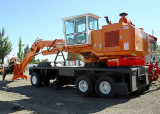 Barko 450 Loader on Pierce Carrier