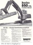 Barko 850 CRL Brochure Cover