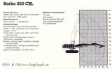 Barko 850 CRL   Specifications