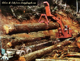 1971 Ad Picture LS108B Line Logger